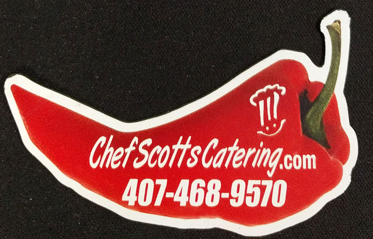 Chef Scott's Custom Fridge Magnets