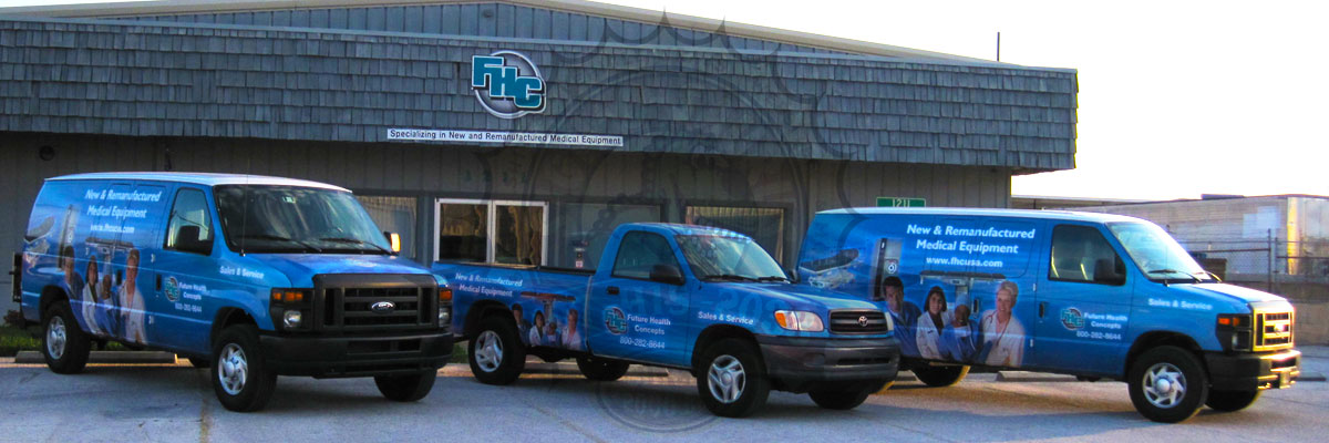 Future Health Concepts Fleet Wrap