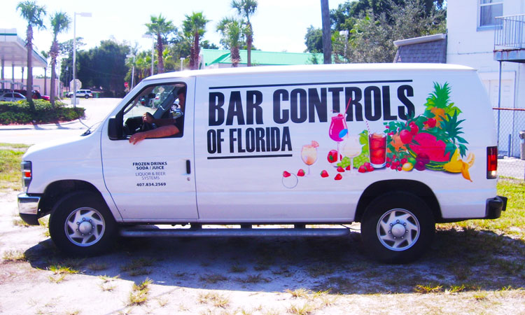Bar Controls of Florida Vehicle Graphics