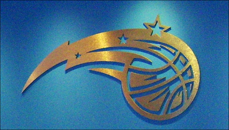 Orlando Magic Wall Sign