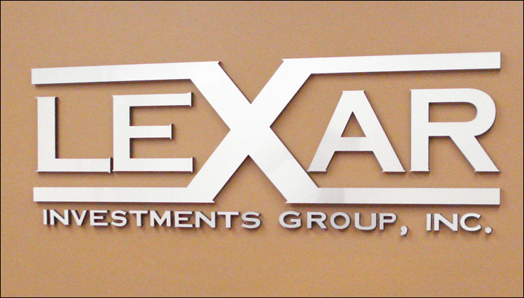 Lexar Investments Metla Wall Sign