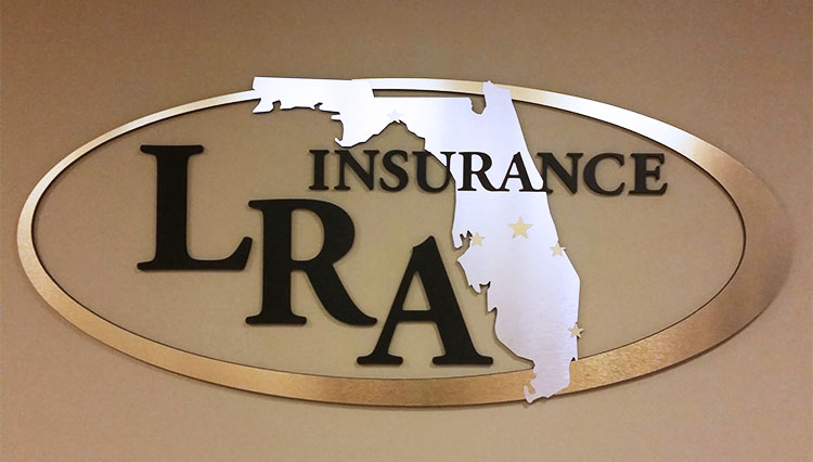 LRA Insurance Custom Wall Sign