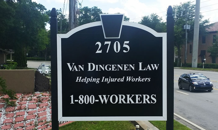 Van Dingenen Posts Sign