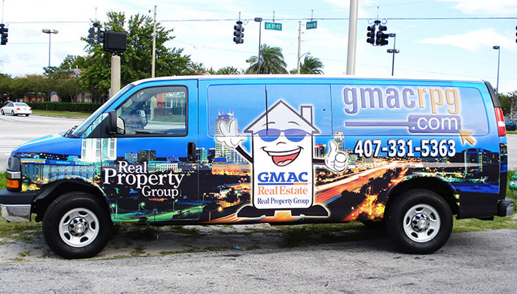 Real Property Group Van Wrap