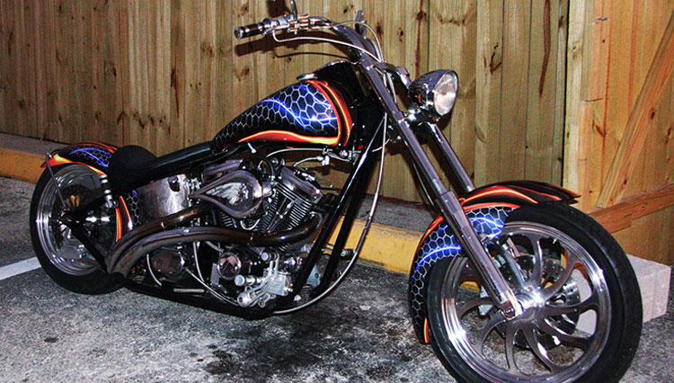 Custom Motorcycle Wrap