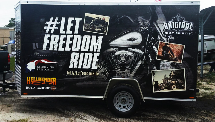 Freedom Ride Trailer Wrap